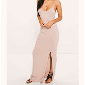 BOOHOO| Sexy Open Back Maxi Dress